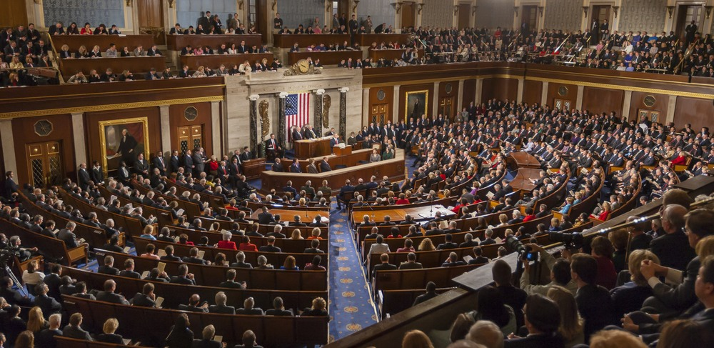 Full house in Congress for State of the Union to tackle outdated laws in the US