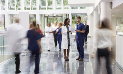 Doctors in Lobby