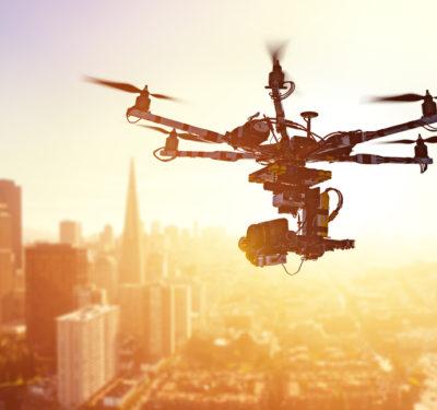 Drone over San Francisco
