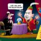 Goldman Sachs Innovation Lab as a Fortune Teller cartoon