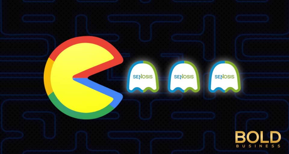 Google as Pacman eats Senosis