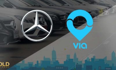 Mercedes Benz Investment in Via for its multi passenger rideshare app