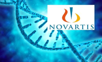 Novartis Logo with DNA