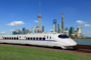 Train in China