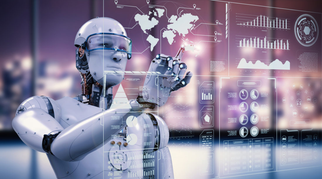 AI Self-Healing Robot