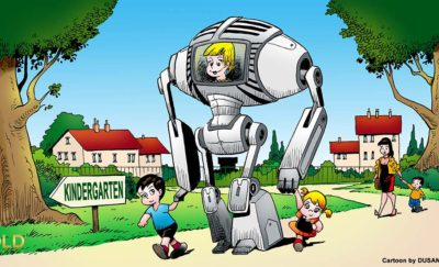 Robots to School
