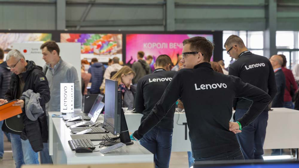Convention with Lenovo - How the thinkpad changed the world through their laptop.