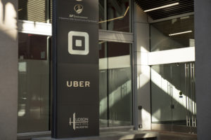Uber HQ on Market St.
