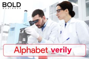 Verily: People in a lab