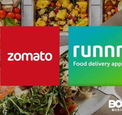 Zomato Runnr Deal