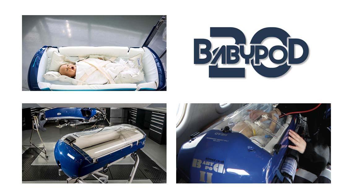 babypod 20 - a high tech transport pod for babies
