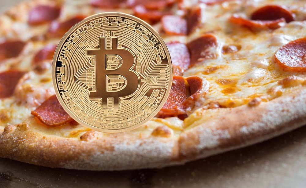 Bitcoin and Pizza - Tokenization Blockchain?