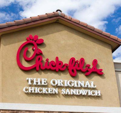 Chick fil a restaurant