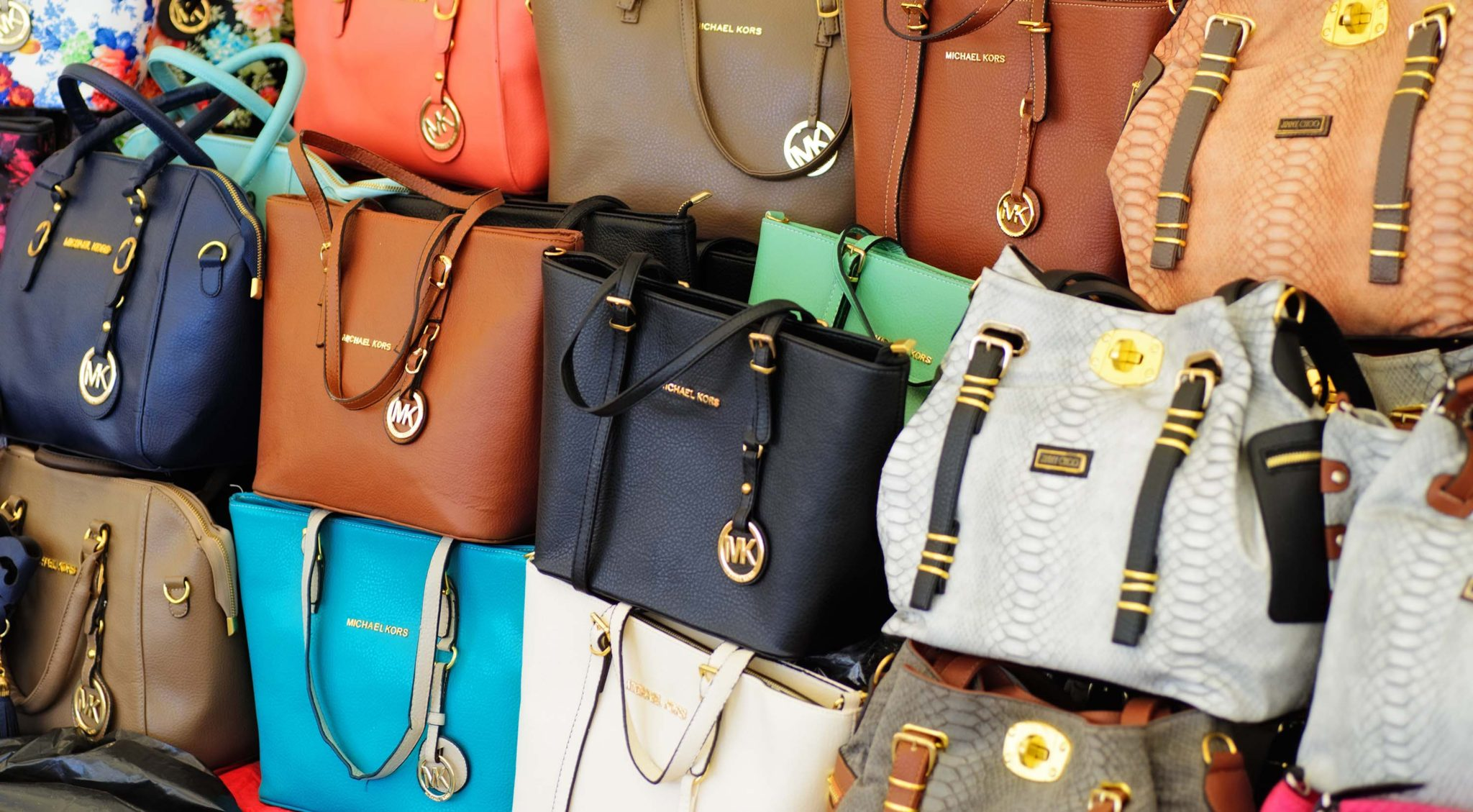 counterfeit high-end handbags