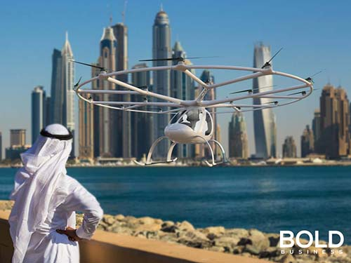 drone taxi dubai tested, certification will be next