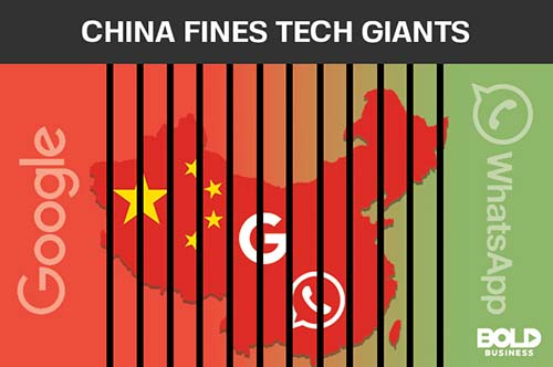 China and Internet Censorship Fines Tech Giants