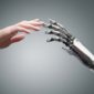 Humand hand and Robot hand