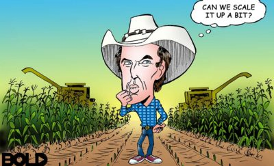Kimbal Musk and Corn