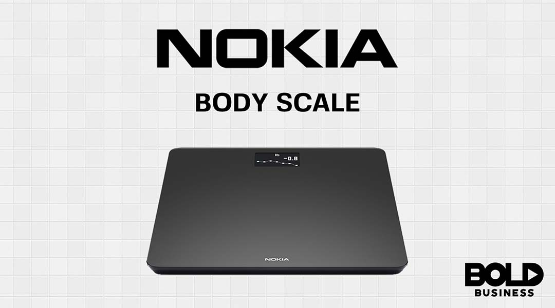 Nokia health devices line up includes its body scale product