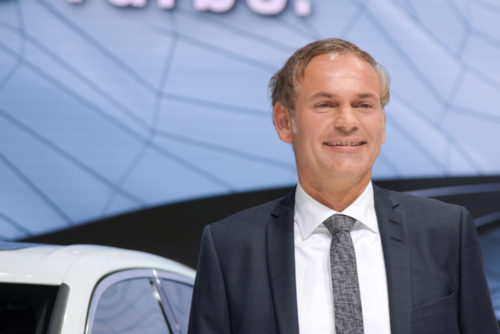 Dr. Oliver Blume, CEO of Porsche