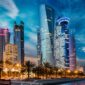 Qatar skyline