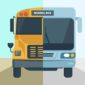 how school bus technology upgrades, from old to modern bus