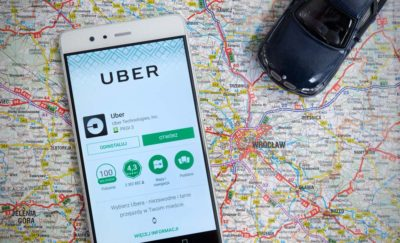 Uber on Map