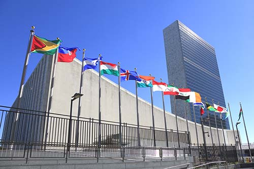 United Nations Building - Global Sustainable Finance Agenda