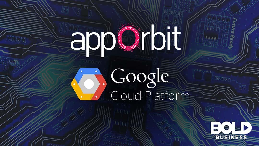 appOrbit and Google Cloud App logos