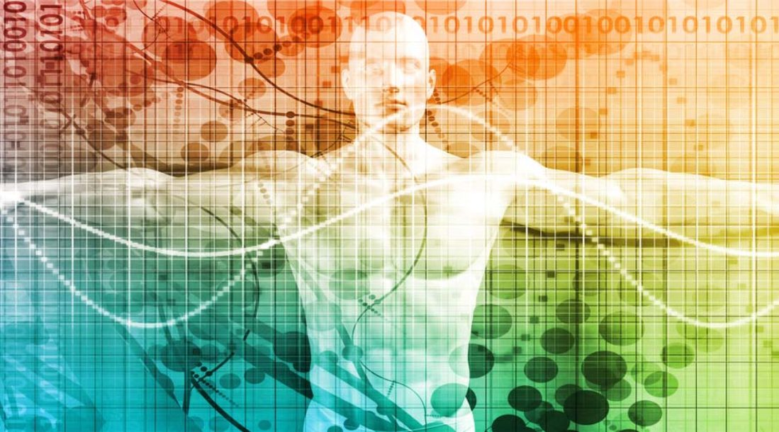 Futuristic body scan