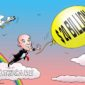 A cartoon of Jeff Bezos illustrating the Amazon Cerner Partnership with a $ 20 Billion Healthcare Tech Cloud deal