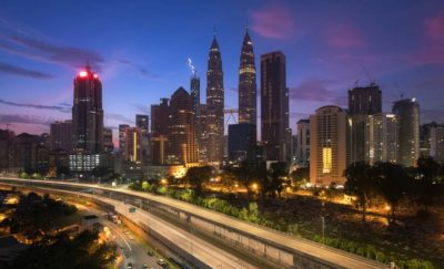 Skyline of Kuala Lumpur at dusk - New Home for Oracle Digital Hub