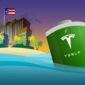 Tesla to Puerto Rico