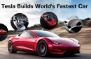 what's the fastest car in the world ? tesla already built the answer - the roadster