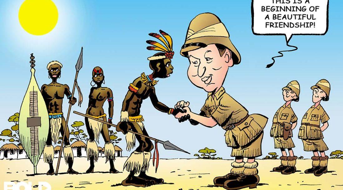 Xi in Africa