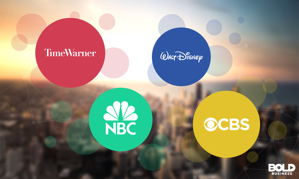 Time Warner, Walt Disney, NBC and CBS are players in media mergers and acquisitions