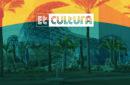 Et Cultura logo overlays palm tree lined street image