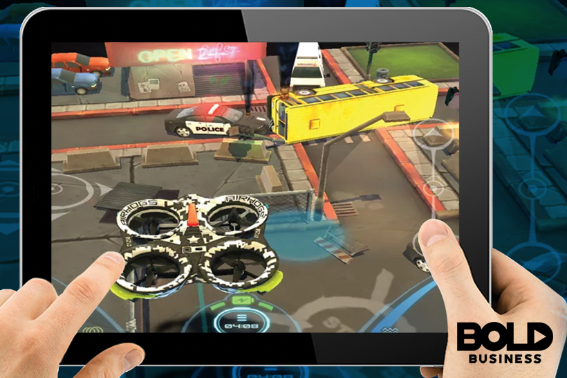 AR and VR incorporated drones will be used in gaming industry
