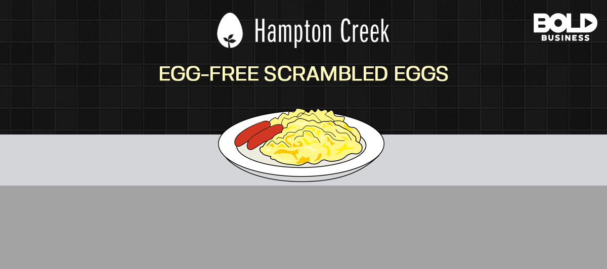 Hampton Creek's Egg Free Scrambled Eggs