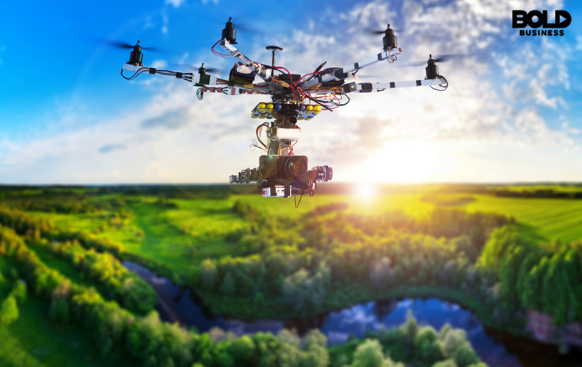 Tree Planting Drones Might Rescue the Planet – Bold Business