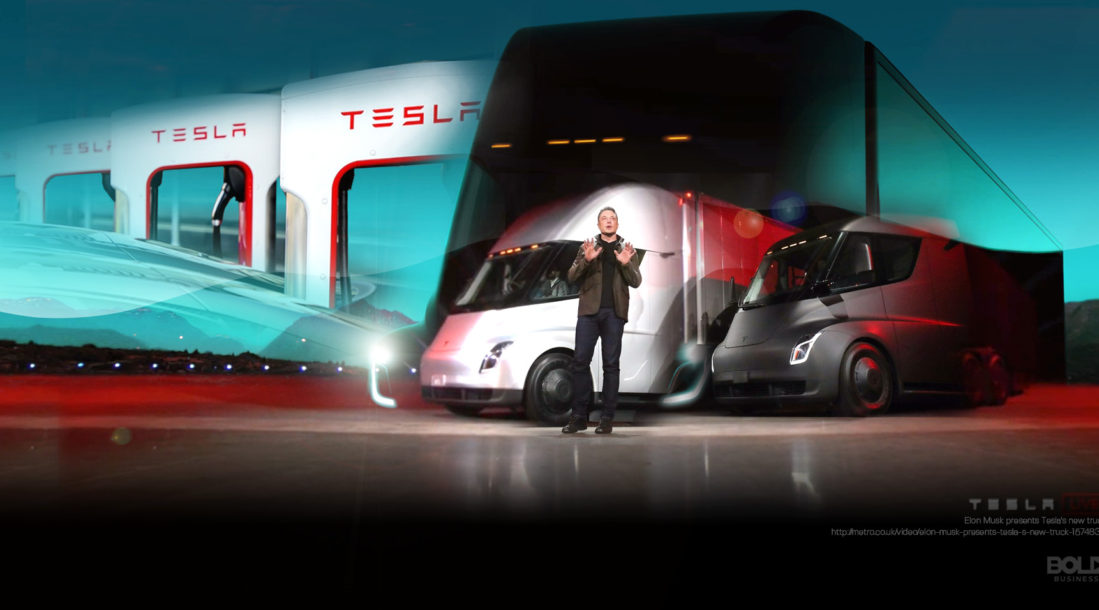 1981 Teslas new MegaCharger Truck