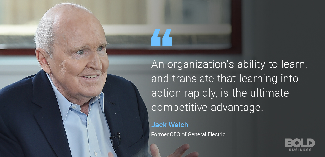 digital transformation, jack welch quoted