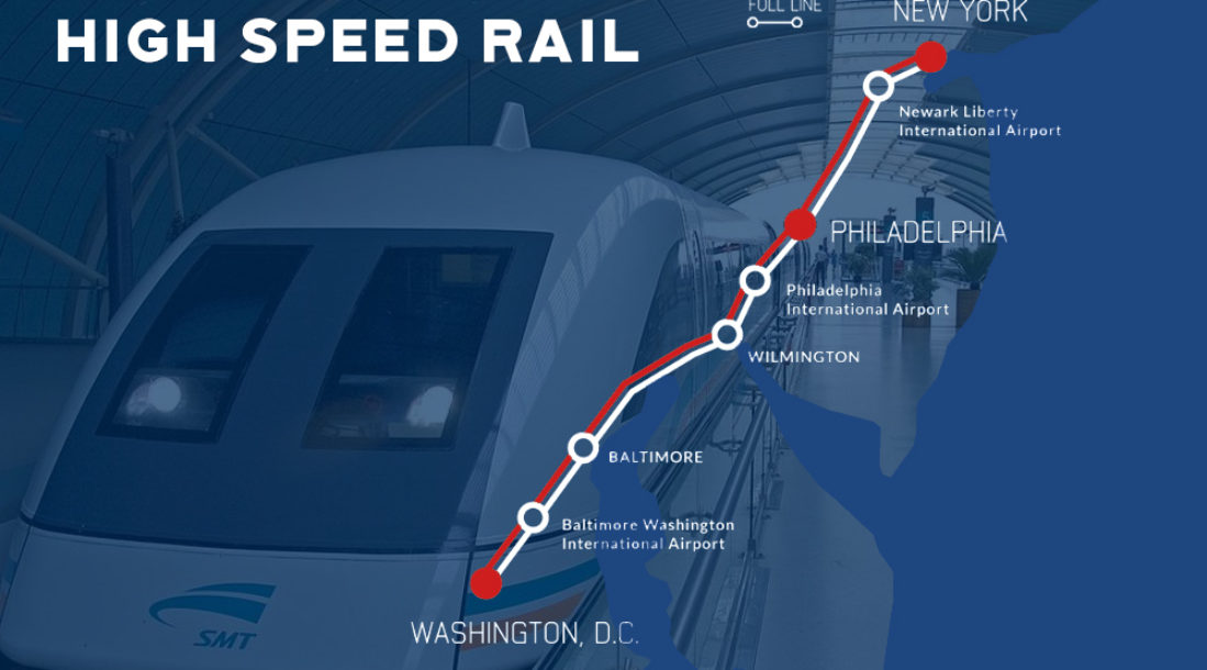 the high speed rail via maglev by hyperloop is finally happening