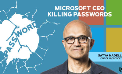 No more passwords for Microsoft