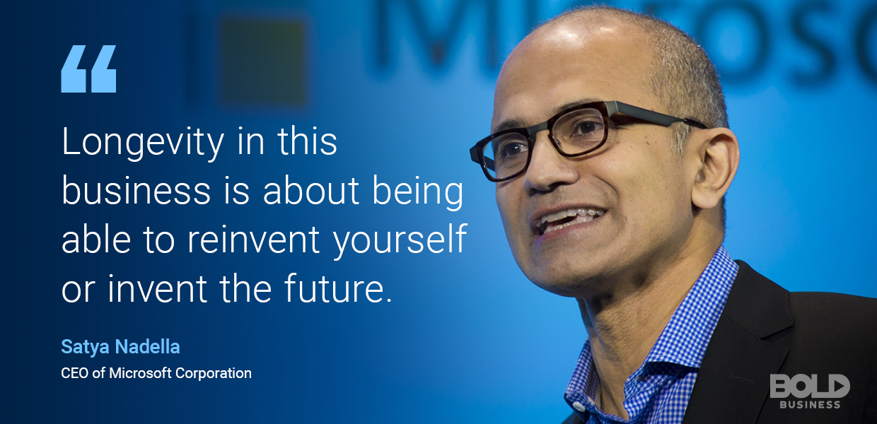 digital transformation, satya nadella quoted