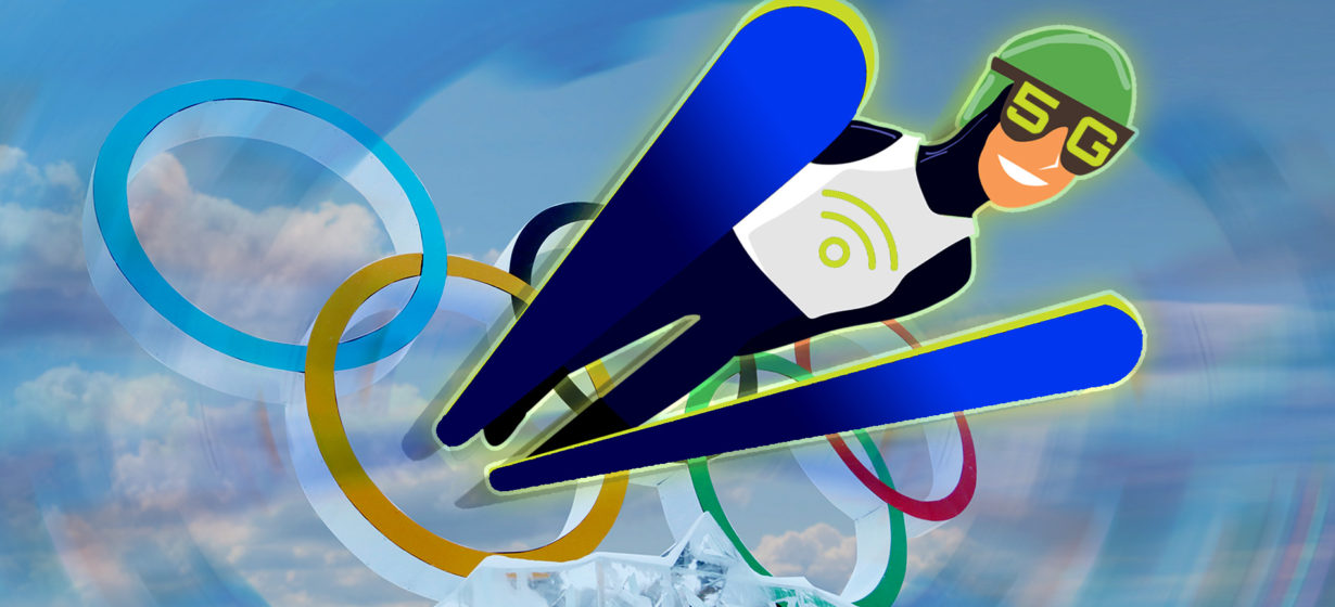 Winter Olympics 5G – featured graphics