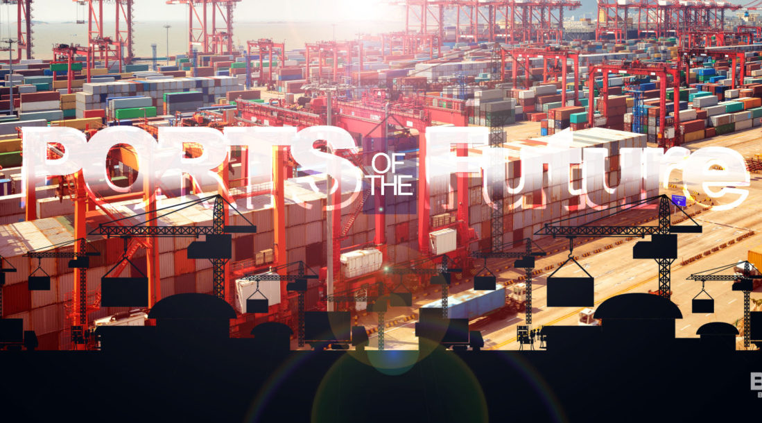 The Future of Port Automation: Smart Ports are here.