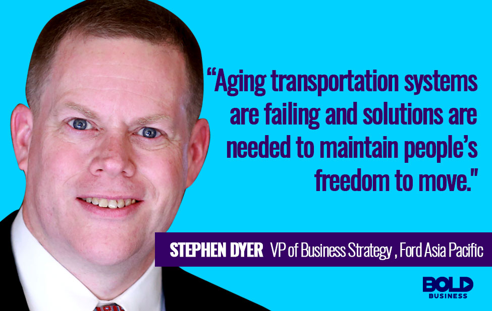 Stephen Dyer Quotes about transportation