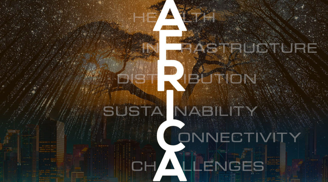 """a photo with the word """"AFRICA"""" etched on it amid the idea of smart cities in Africa rising soon"""