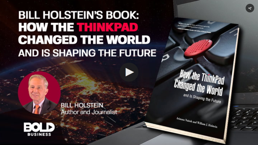 Bill Holstein's Book on Thinkpad